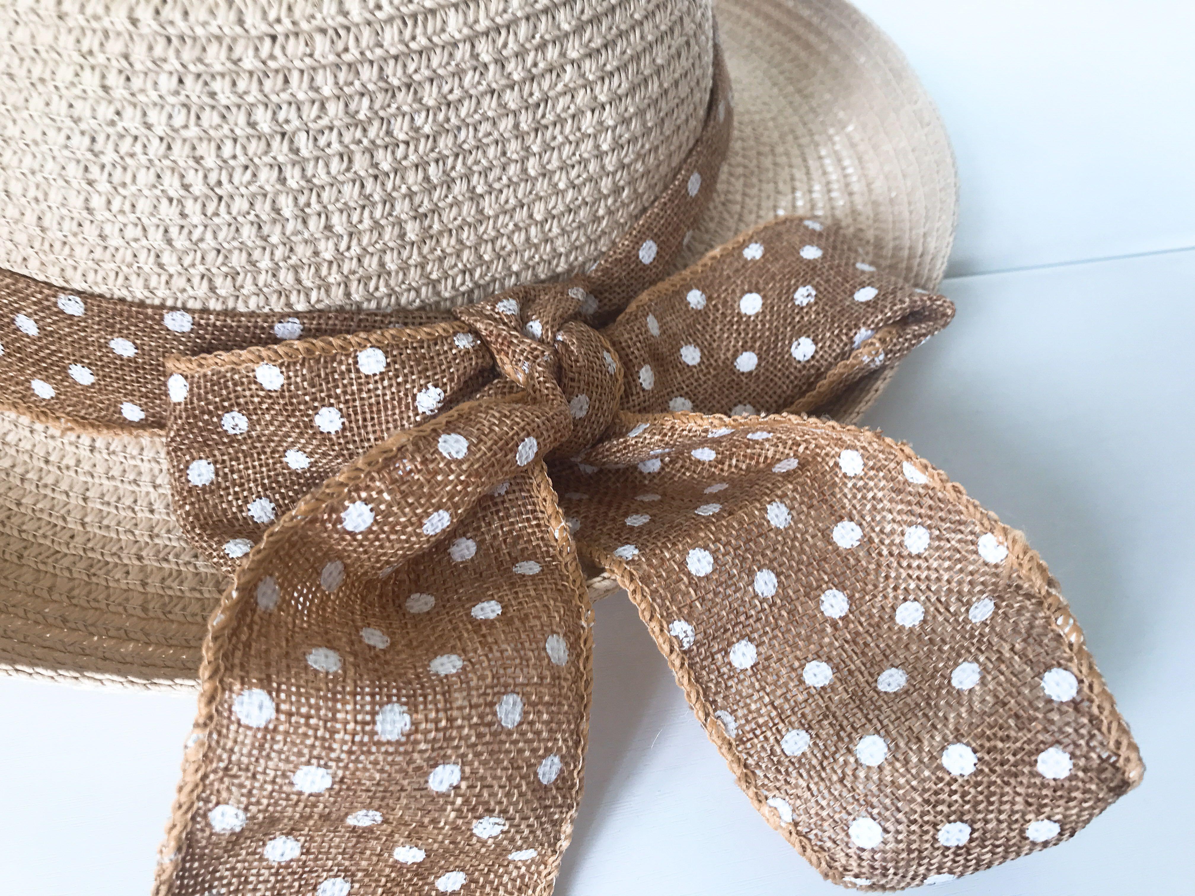 日系簡約可愛草帽