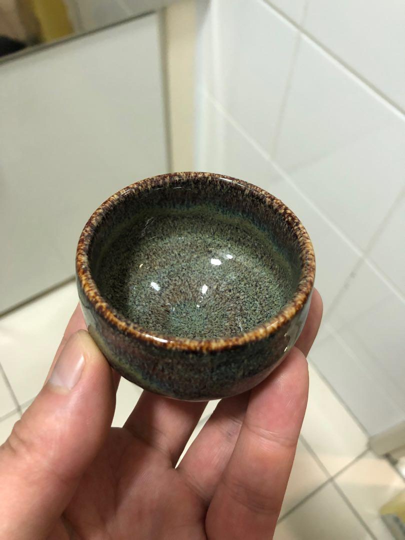 日本回流釉變天目主人杯