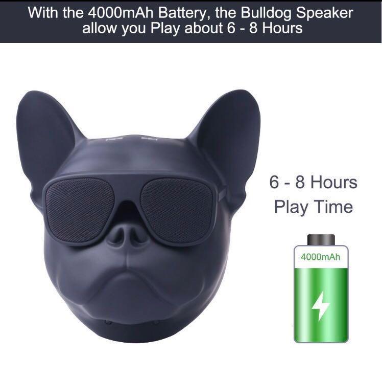 牛頭犬 藍牙喇叭 Bulldog Head Wireless Bluetooth Speaker