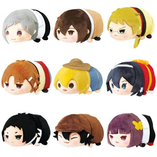 文豪 Bungo Stray Dogs Tsum Tsum (日版)(全新未用)(散買)