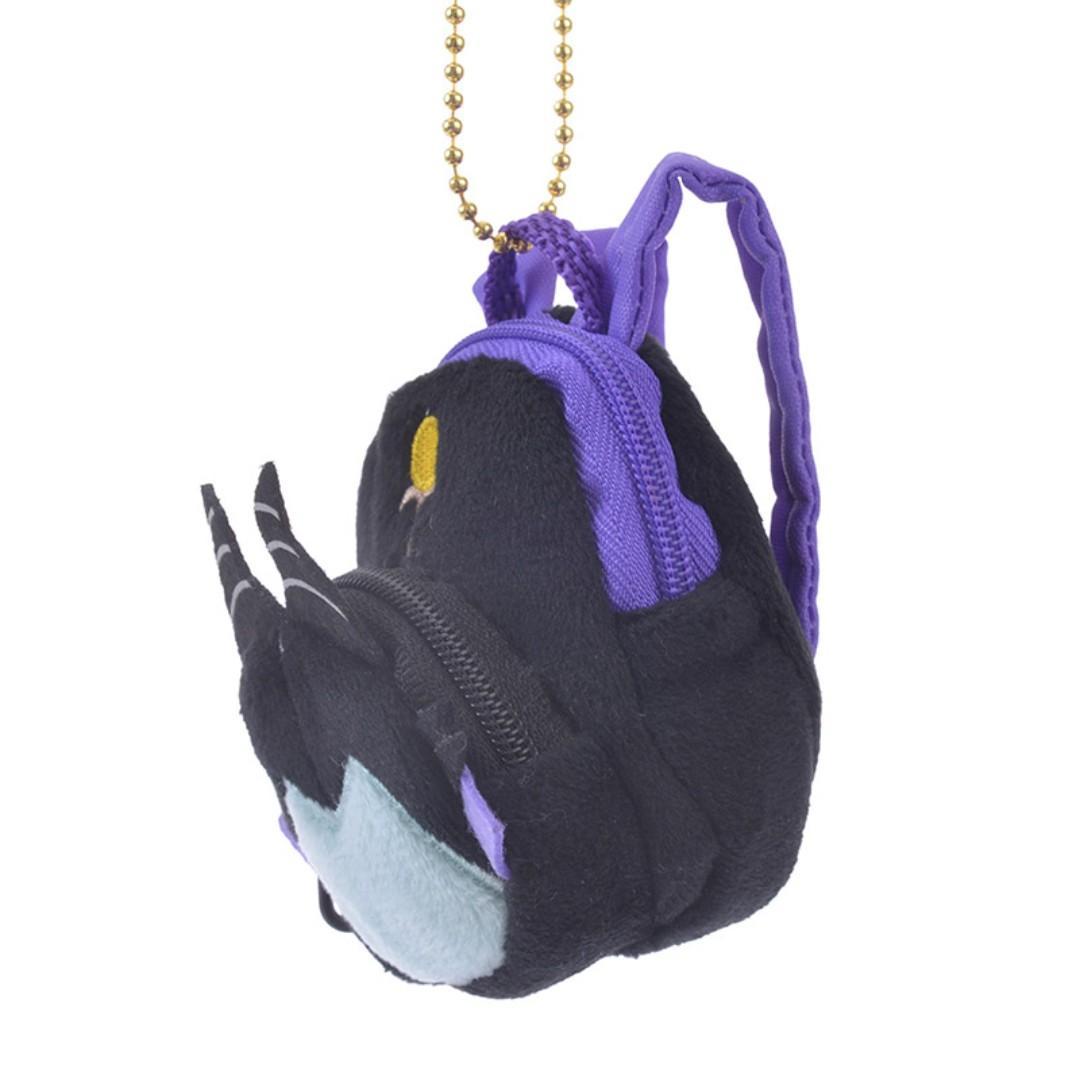 現貨 Disney Japan 日本迪士尼 Maleficent黑魔后 背囊背包 uniBEARsity匙扣公仔 nuiMOs 可通用