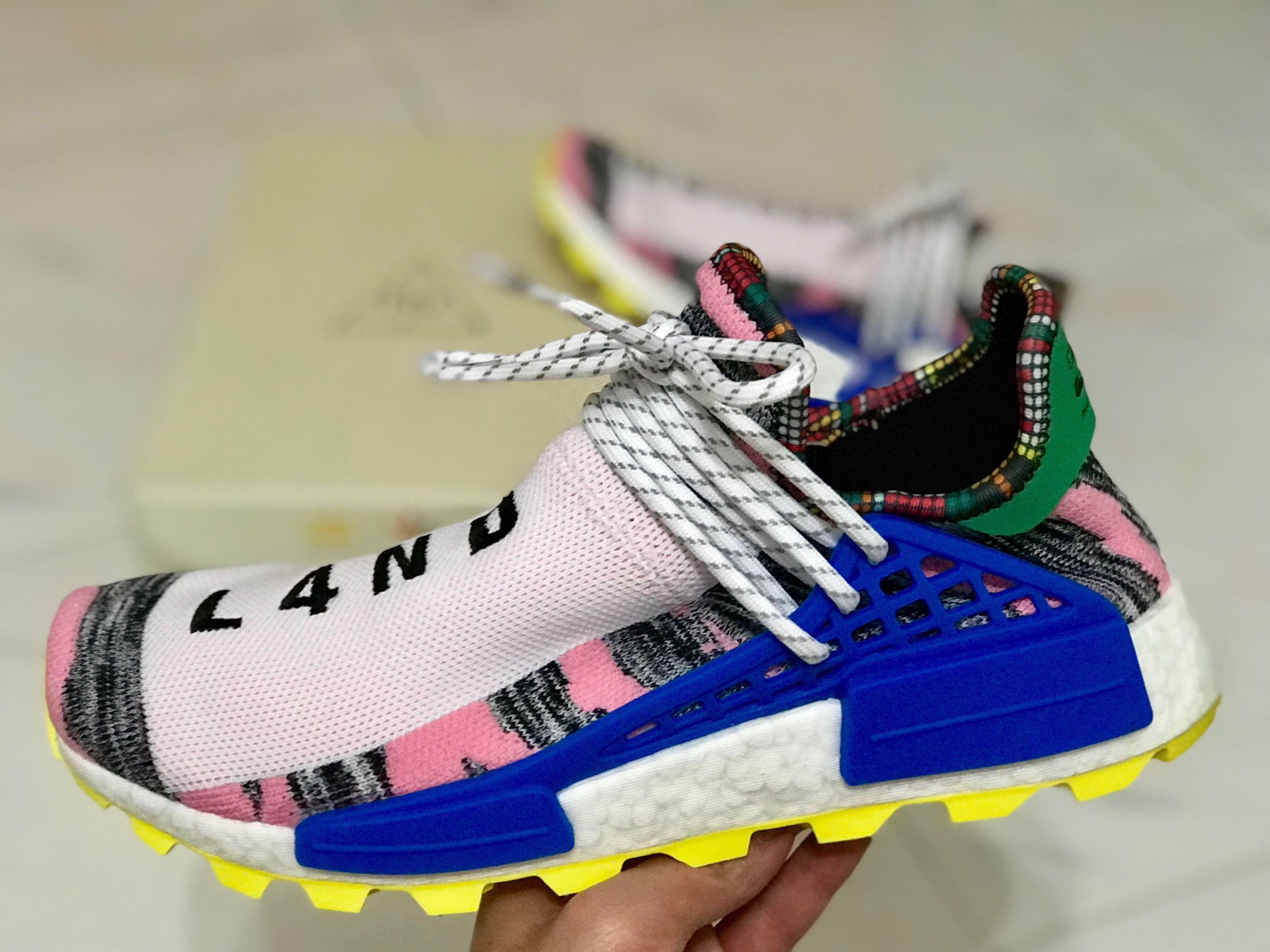 "d87b087b14a5f Adidas NMD x PW Human Race Solar Pack ""Motherland"""