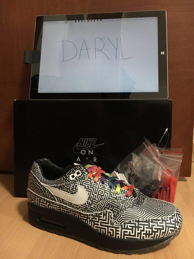 Air Max 1 Tokyo Maze, Men's Fashion, Footwear, Sneakers on
