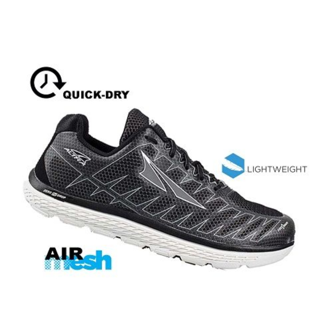 online store d5abc b67a4 Altra Men's One V3 Running Shoes - Black Size US 10.5