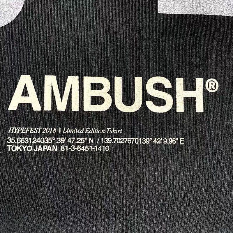 AMBUSH 3M反光短袖