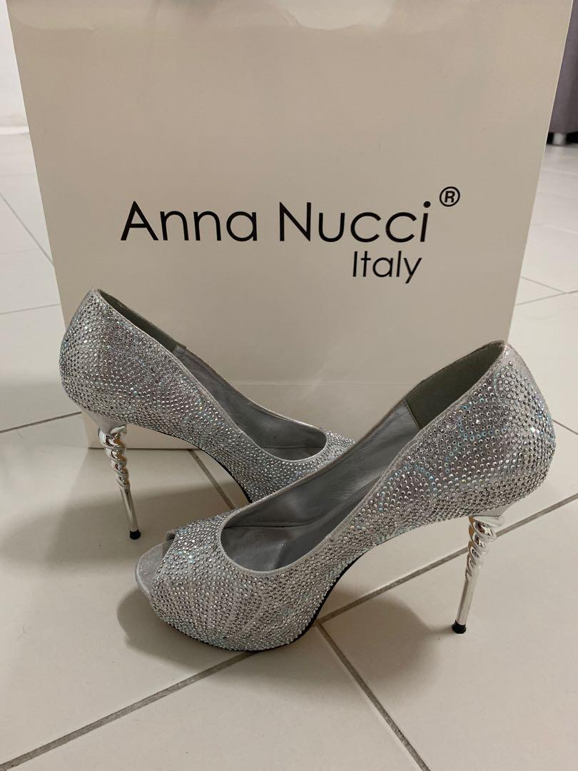 ANNA NUCCI BRIDAL HEELS (ITALY)