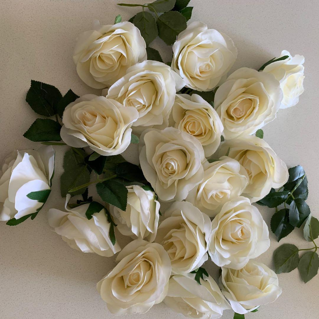 Artificial Flowers for Decoration or Baby by Month
