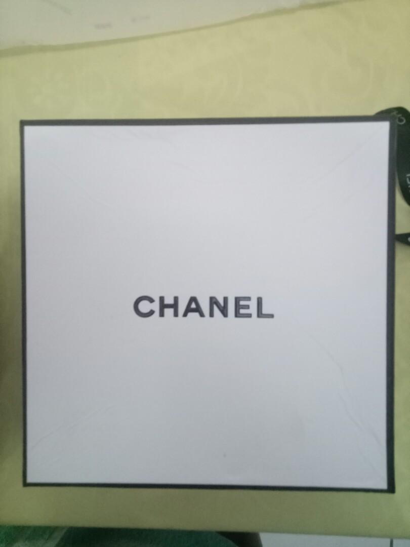 Authentic chanel box