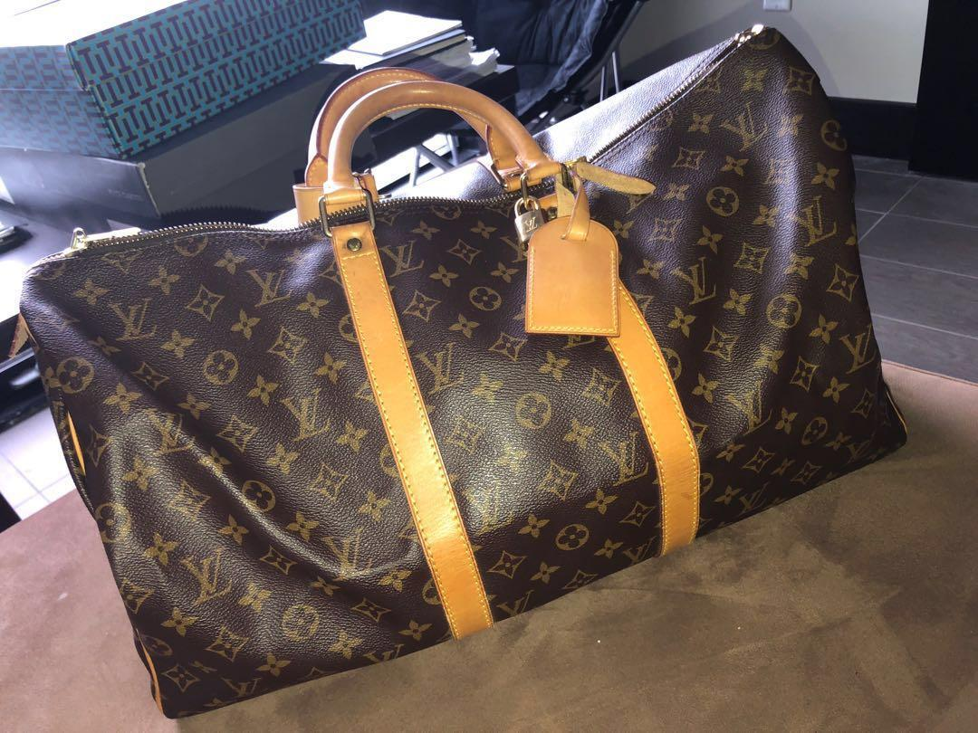 Authentic Louis Vuitton Monogram Keepall 50 (Most Coveted Size) #SwapCA