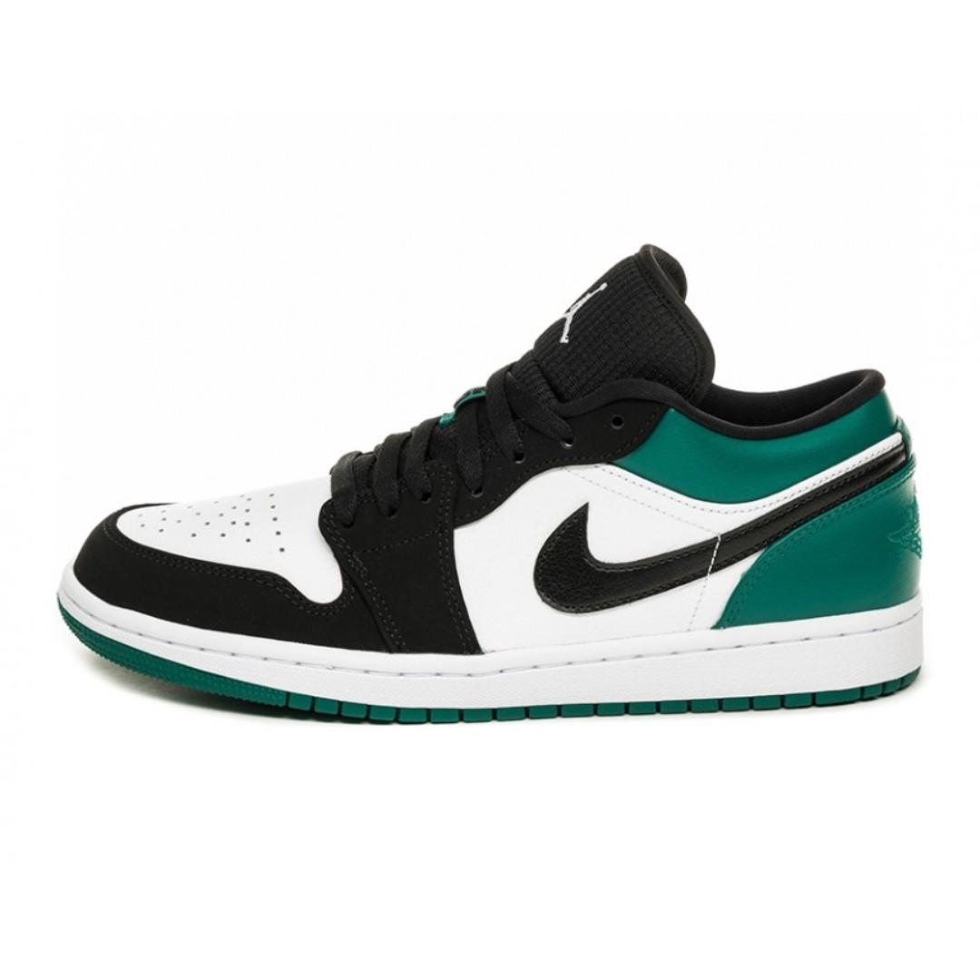bf2f721b9bc Authentic Nike Air Jordan 1 Low Mystic Green, Men's Fashion, Footwear,  Sneakers on Carousell