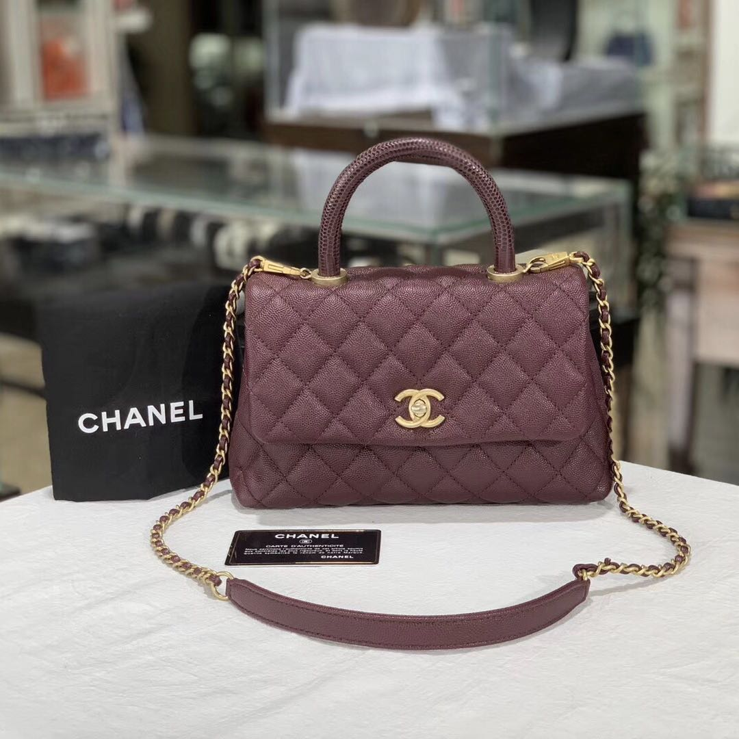 Authentic Pre-loved Chanel Coco Handle (Small)