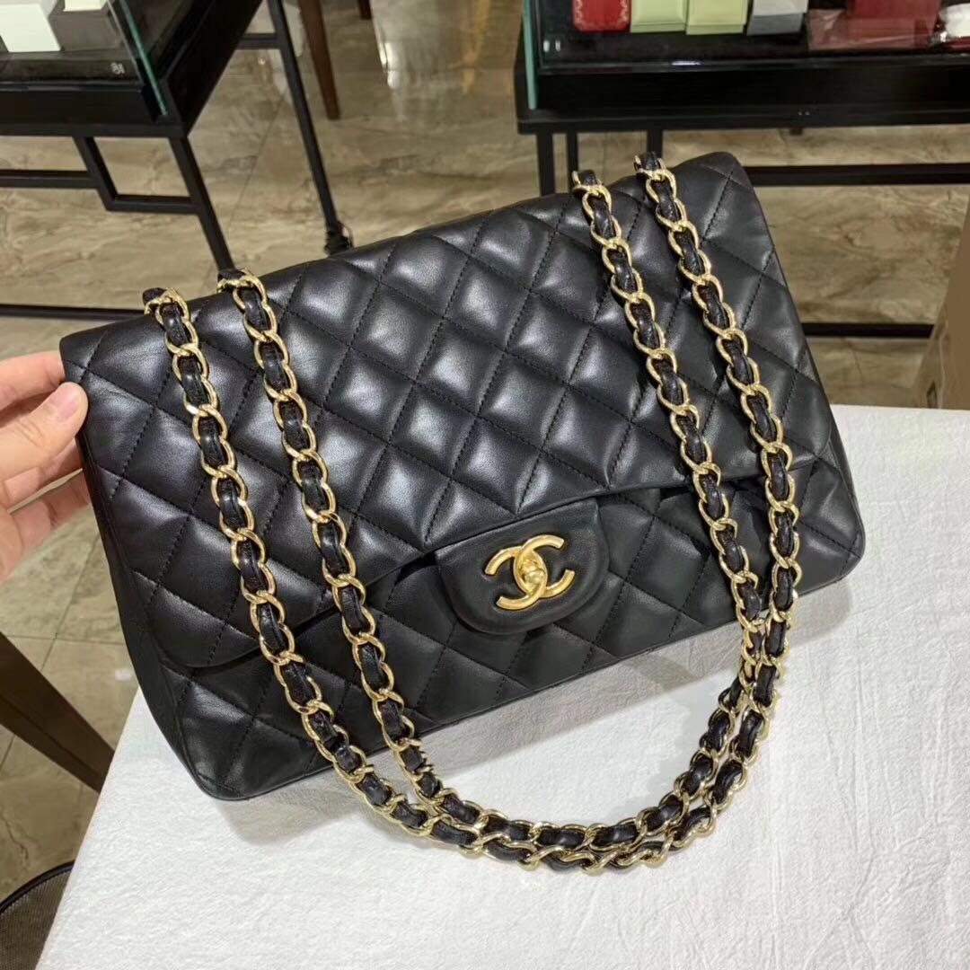 Authentic Pre-loved Chanel Jumbo Single Flap