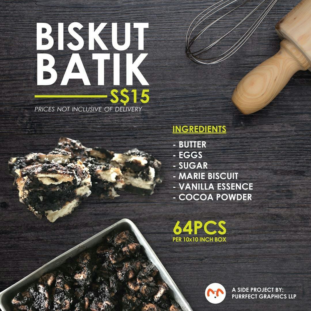 Biskut Batik