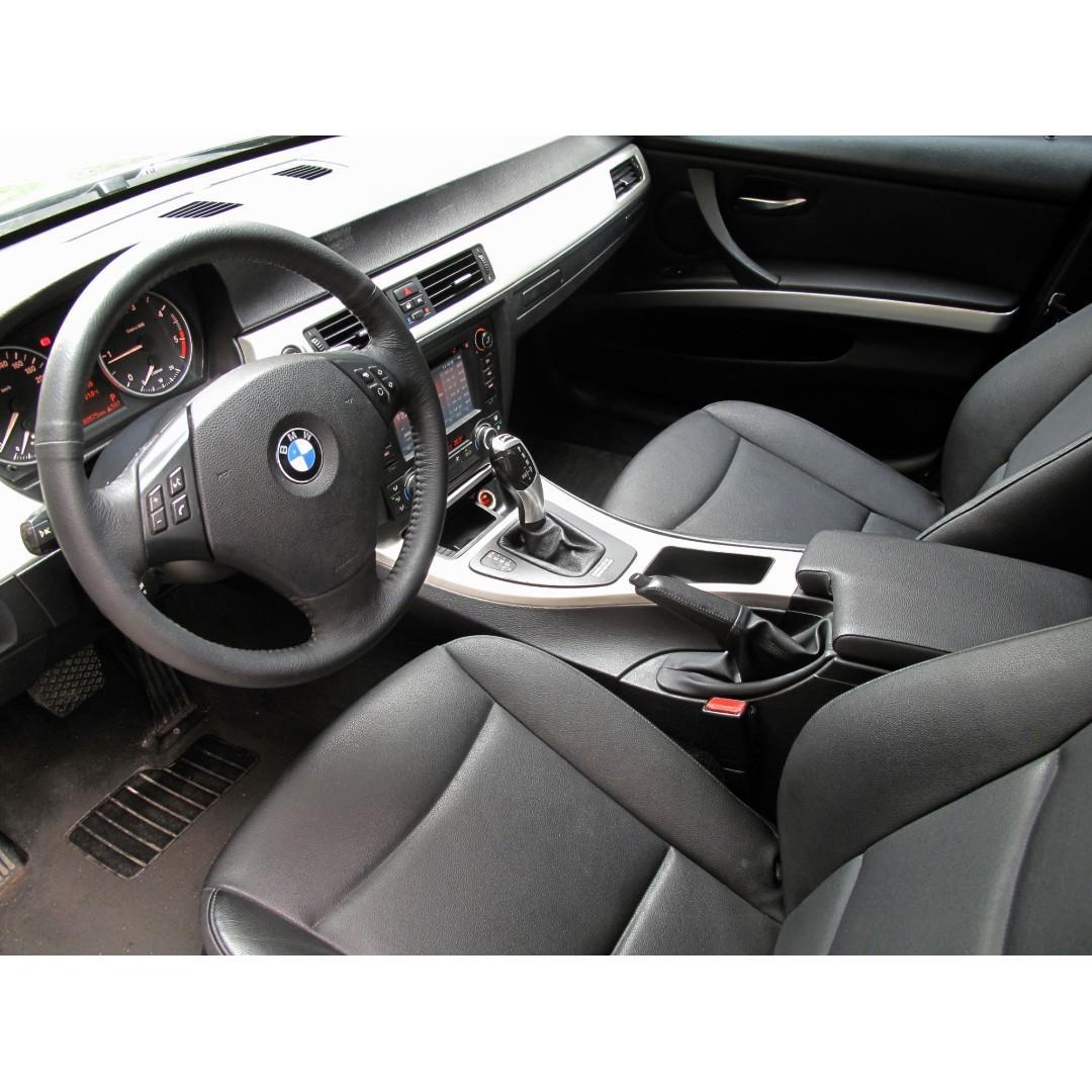 BMW柴油320 四出尾管+M包+大螢幕+行車記錄器