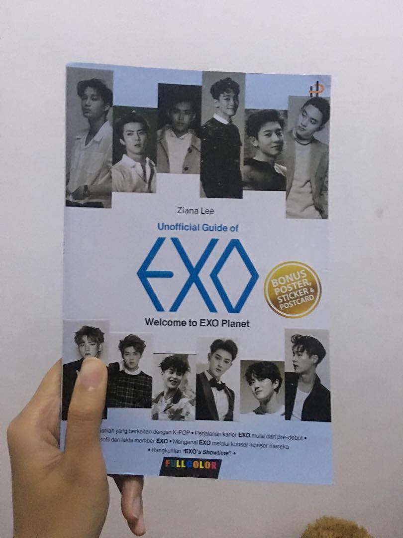 Buku EXO korea
