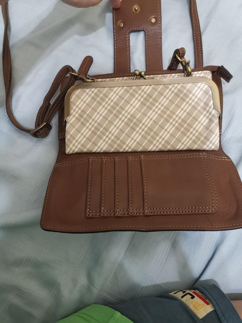 Burberry Blue Label Crossbody Wallet