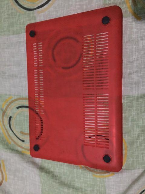 Case Macbook Pro 13inc MD101 Red Matte