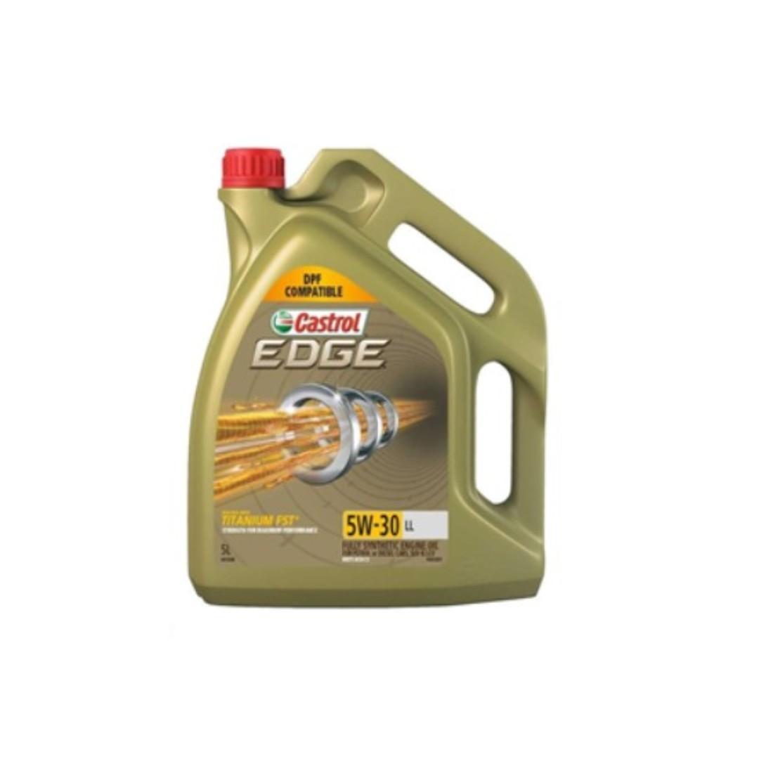 Castrol Edge 5W30 LL 5 litres 5 公升