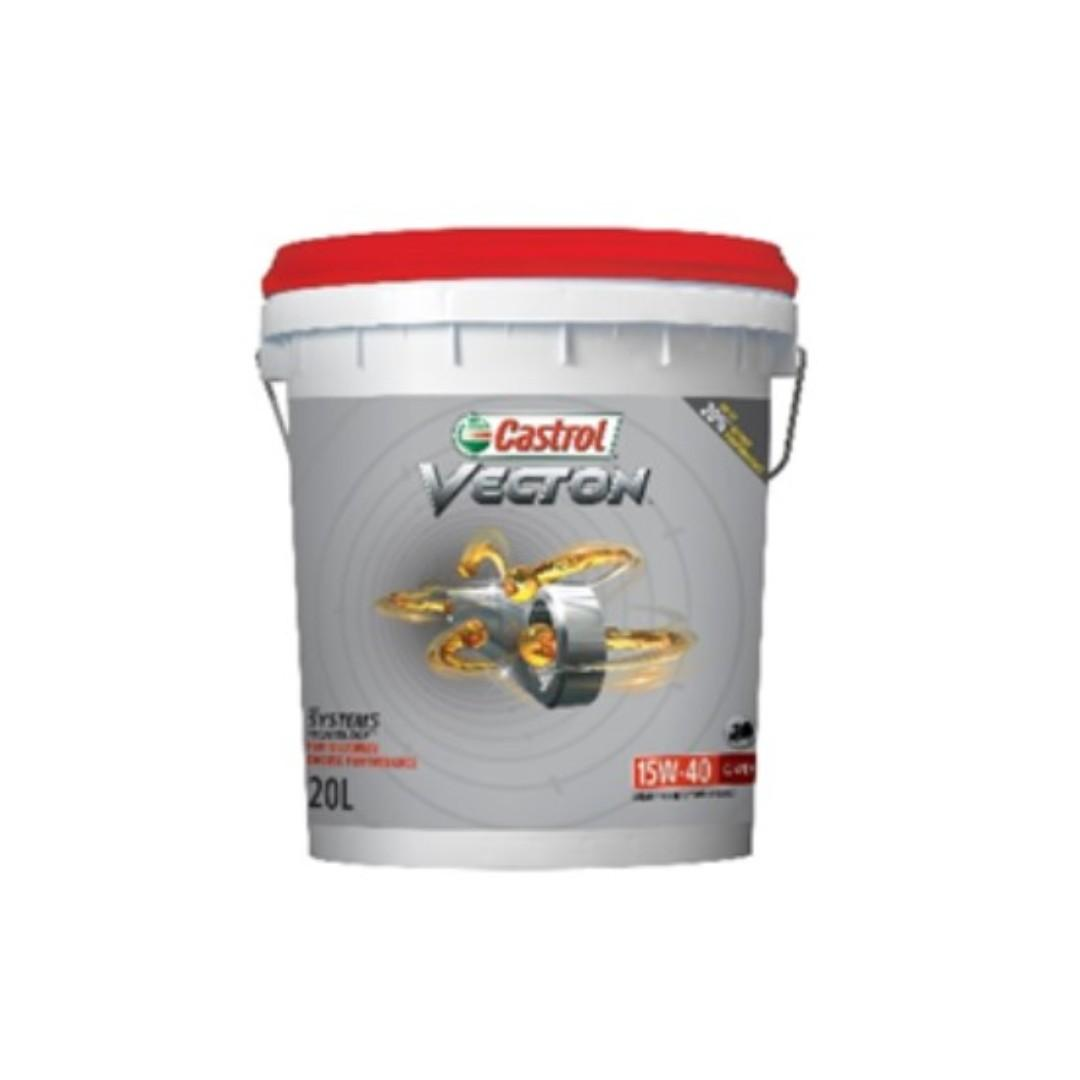 Castrol VECTON 15W40 CJ-4/E9 Engine Oil 20L 20 公升