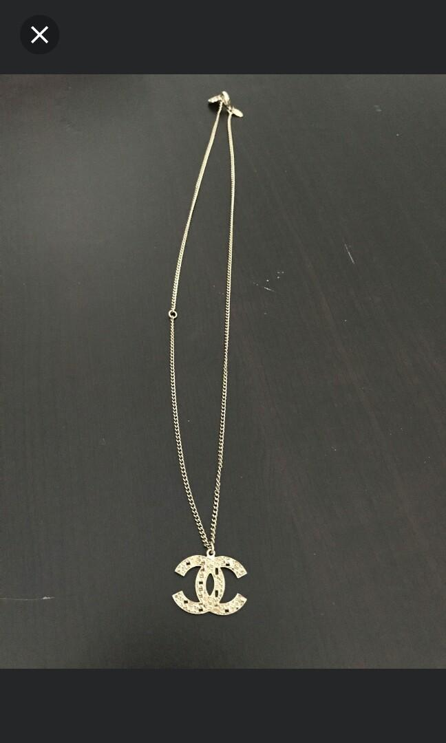Chanel Gold Necklace