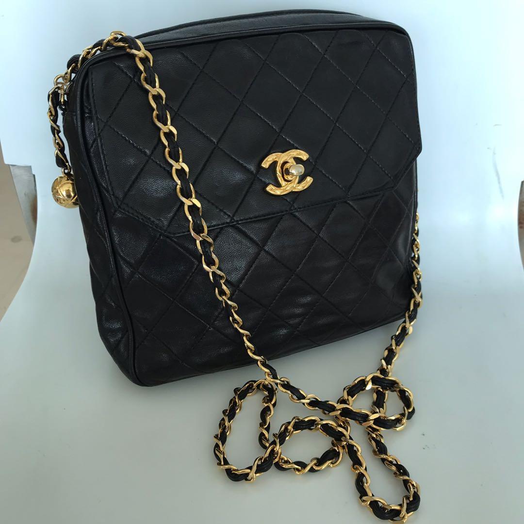 fc65493bf19f Chanel Vintage Sling Bag