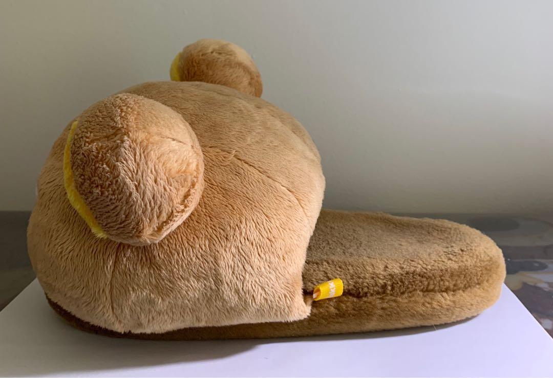 Cute authentic Rilakkuma slippers in good condition!