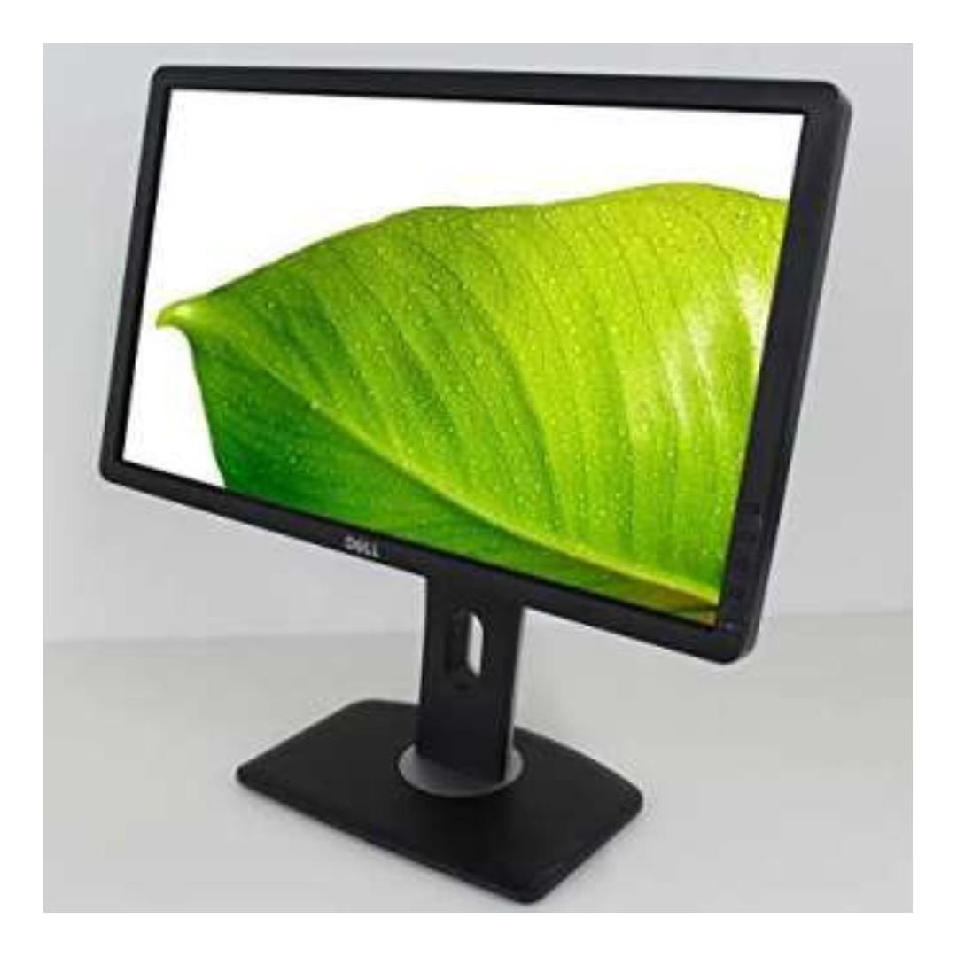 "Dell P2212HB Black 22"" WideScreen Screen 1920 x 1080 Resolution LCD Flat Panel Monitor (Refurbished)"