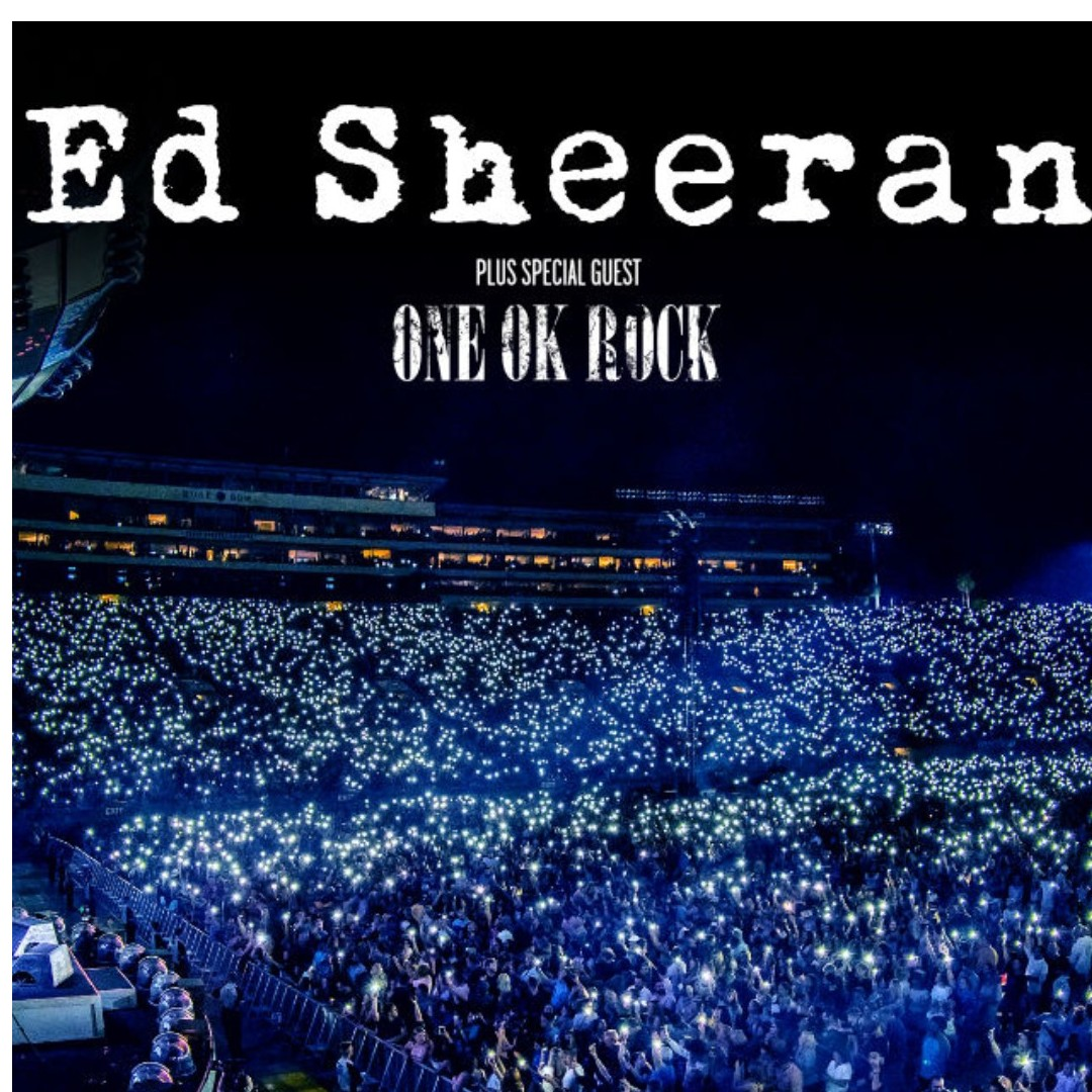 ED SHEERAN CONCERT CAT ONE ORIGINAL PRICE (SIT BESIDE MY HOT SINGLE FRIEND)