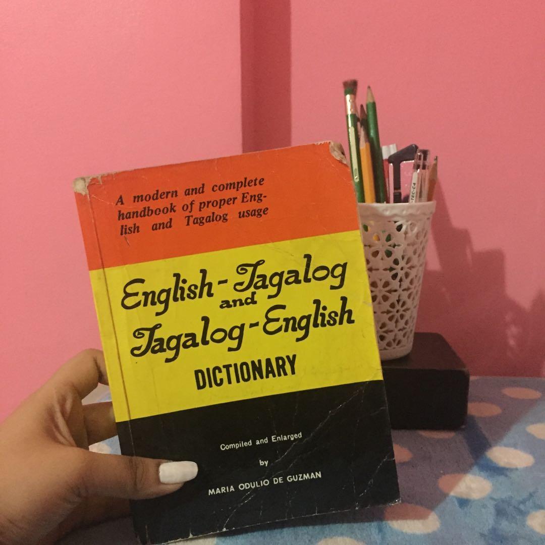 English- Tagalog, Tagalog- English Dictionary on Carousell