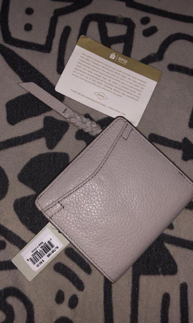 fossil wallet short