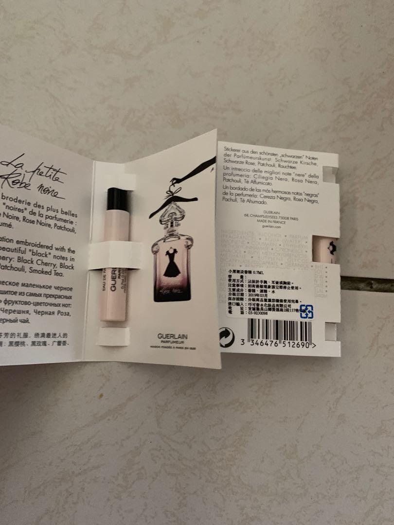 Guerlain小黑裙淡香精0.7ml*2