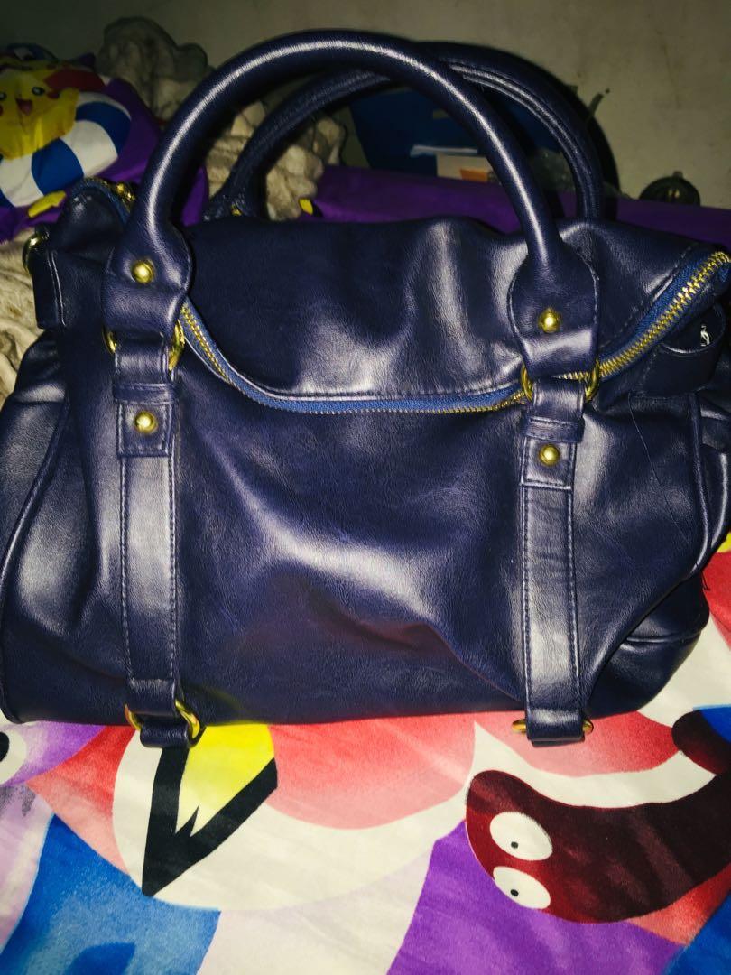 Handbag Blue