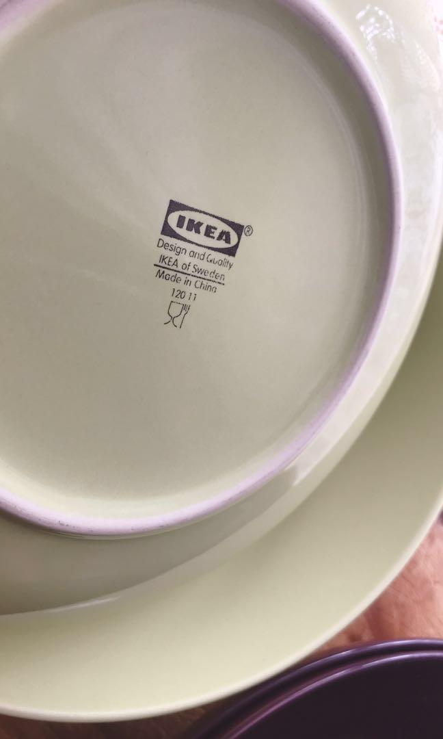 IKEA 9.5吋碟4隻