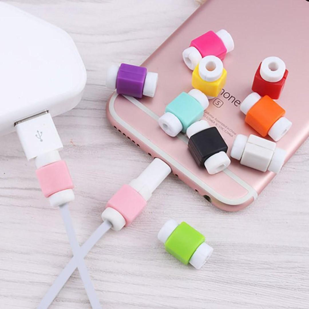 iPhone iPad Cable Protector Sleeves