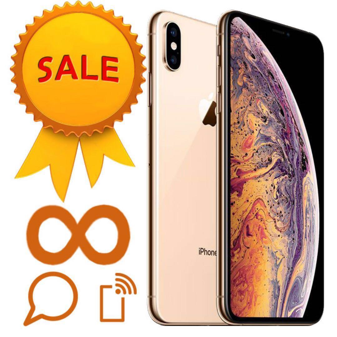 iPhone XS Max 512GB Unlimited (talk time + Data + SMS)