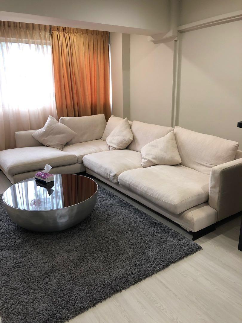 Itallian Design L Shaped Sofa Furniture Sofas On Carousell