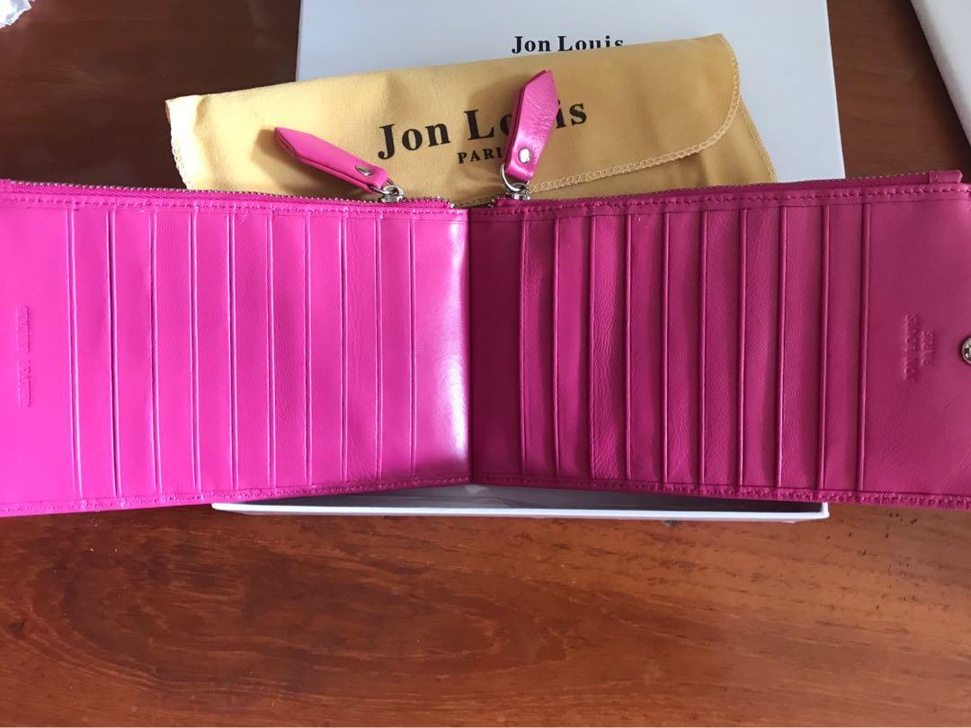 Jon Louis pink card holder wallet #endgameyourexcess