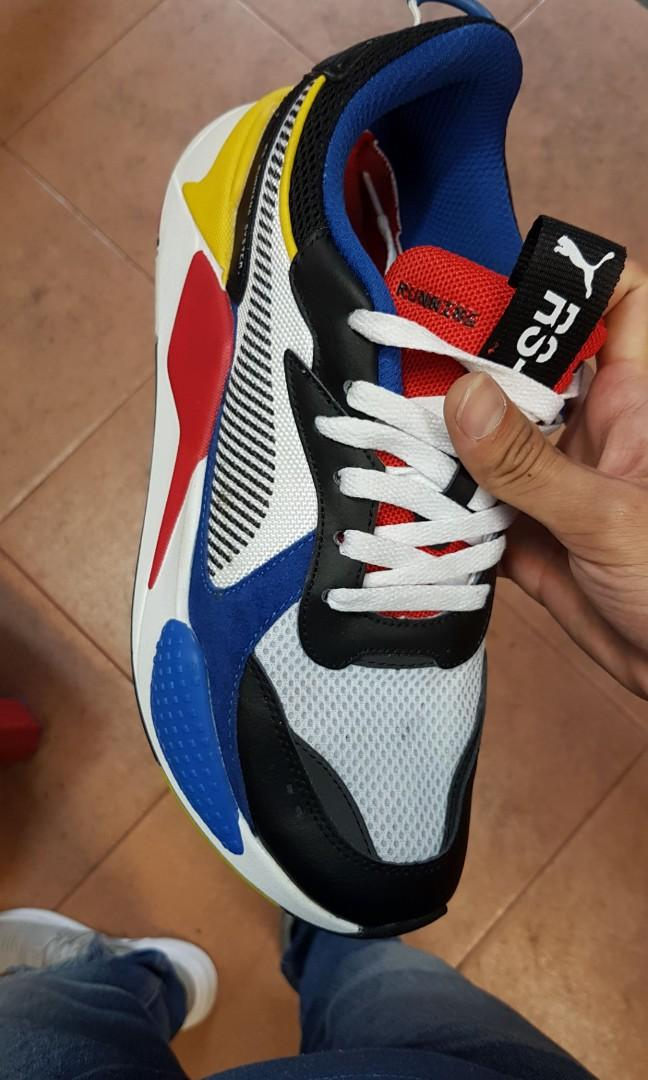 Jual Snikers PUMA Rs-X Toys Blue and Red