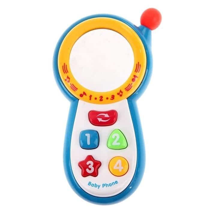 MAINAN BAYI MUSIC CELLULER PHONE CY1013-3A