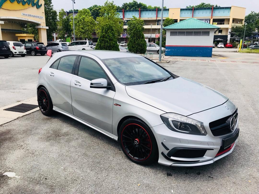 MERCEDES BENZ A250 FULLY CONVERT TO A45 FULLY LOADED