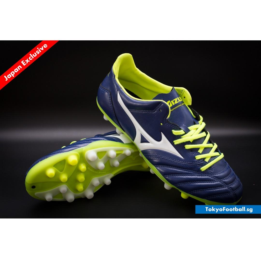 low priced 1965d 49b1f Clearance] Mizuno Morelia Neo 2 AG navy soccer football ...