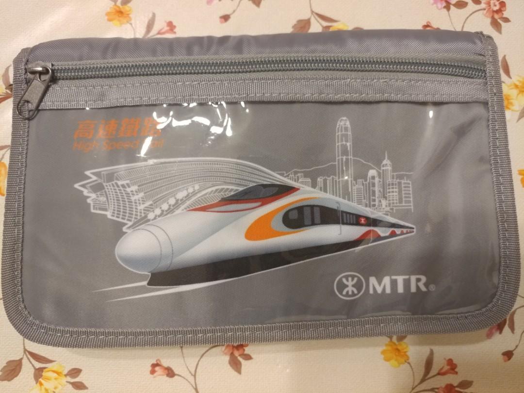 Mtr 地鐵 港鐵 高鐵 通車記念袋