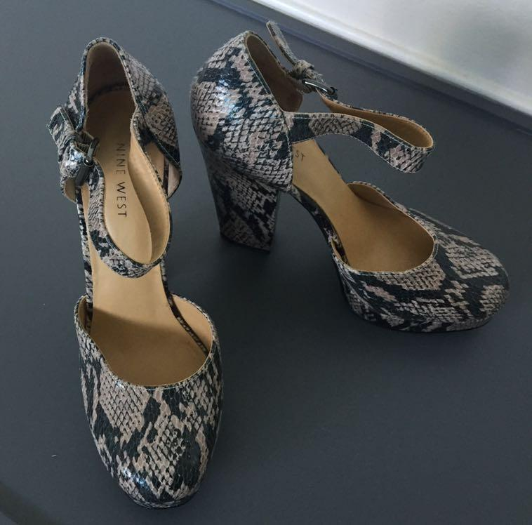 Nine West shoes- slightly used (worn only twice) - size 38-