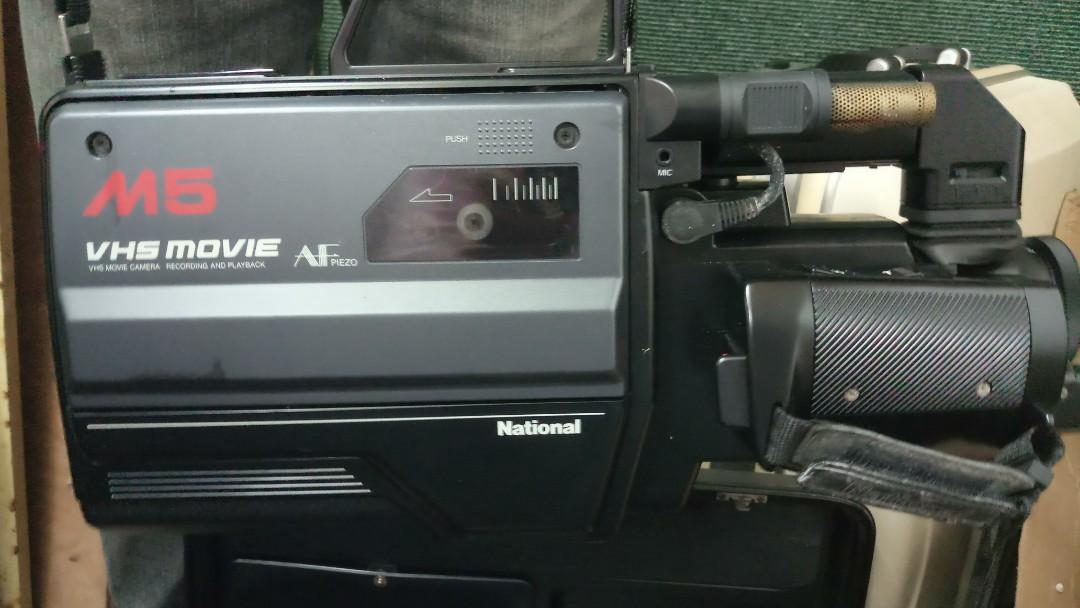 Old National VHS Camera for collection