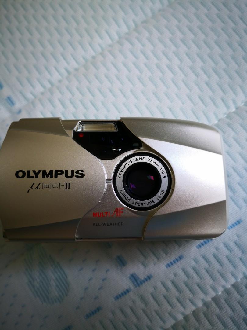 收藏級 Olympus mju 2 菲林機