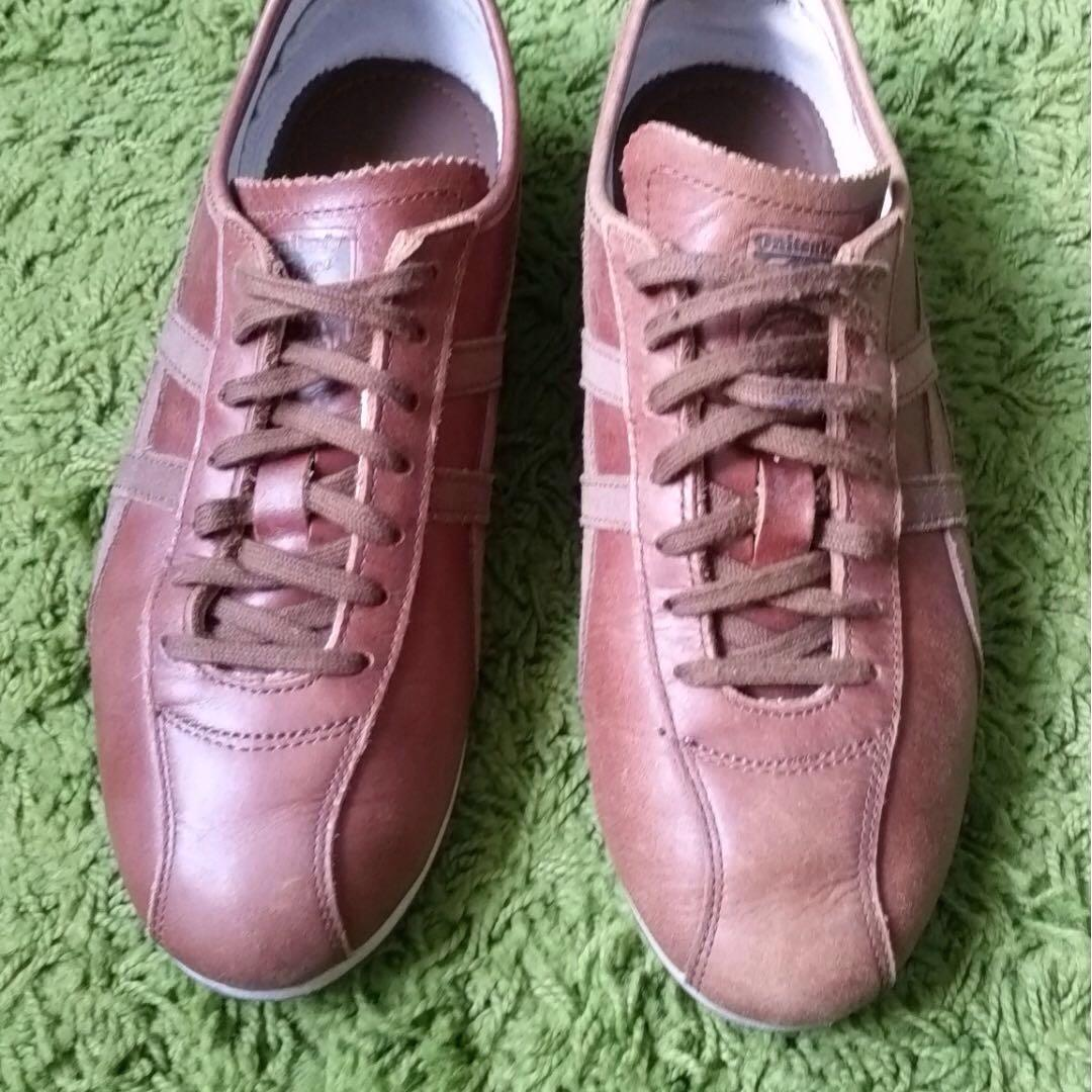 ONITSUKA TIGER LEATHER SHOES, Men's