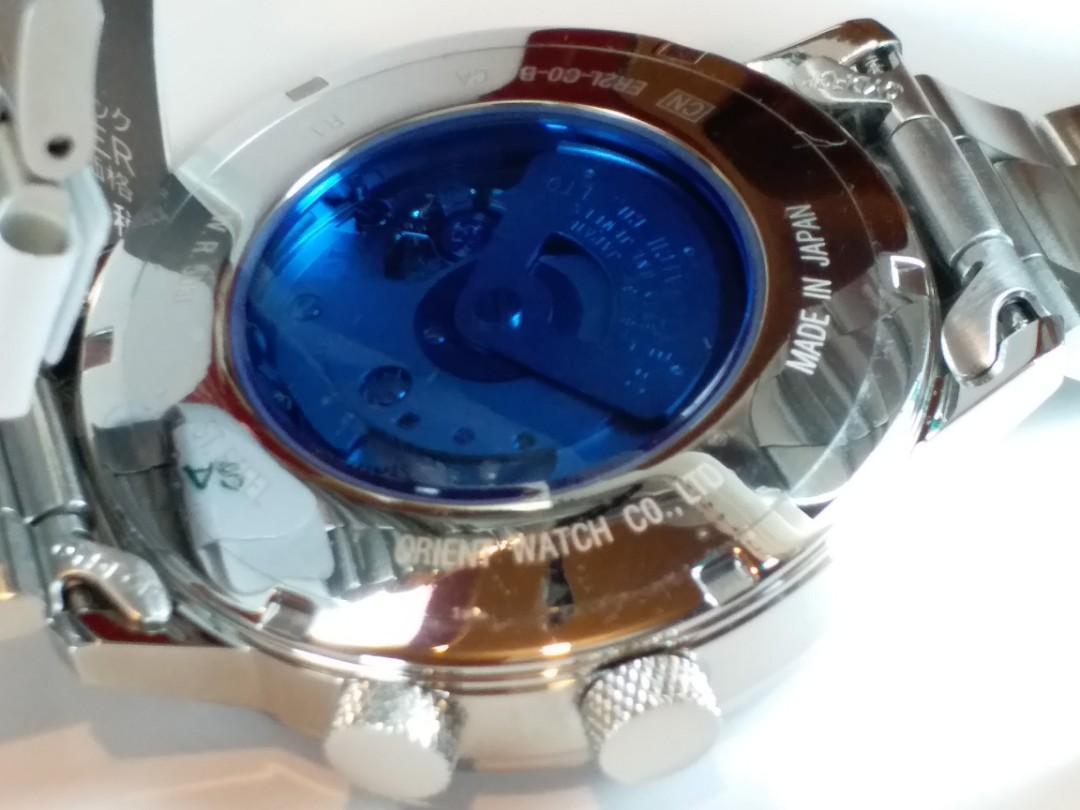 Orient  ~ 東方錶 ~別注版萬年曆~ 機械自動~ 約42mm~ 日本製造 made in Japan,  有原裝紙、盒及吊牌