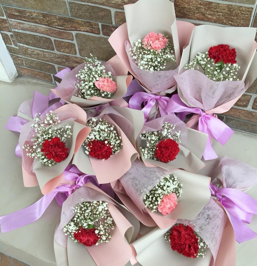 Petite Carnation Bouquet | Fresh Flowers Bouquet | Mother's Day Bouquet #06