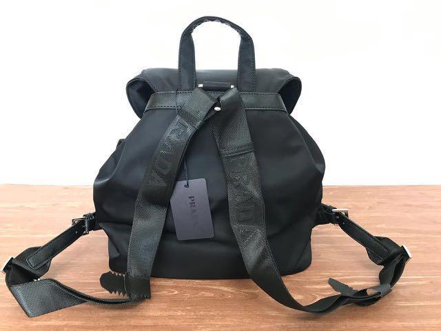 Prada Backpack tosche vela authentic ready on stock