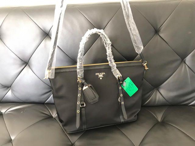 Prada Tessuto tote authentic counter gift vip